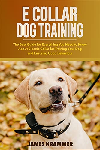 E COLLAR DOG TRAINING: The Best Guide for Everything You Need to Know About Electric Collar for Training Your Dog and Ensuring Good Behaviour