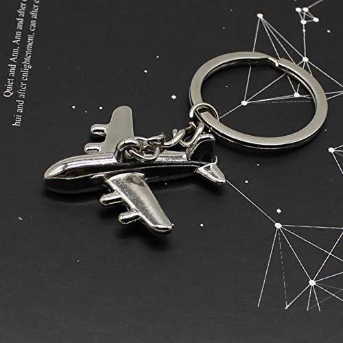 N/ A vliegtuig model metalen sleutelhanger model outdoor sleutelhanger sleutelhanger hanger cadeau