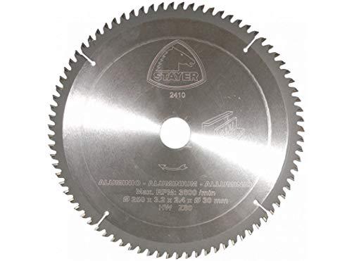 STAYER 12.42 - Disco widia Aluminio Ø 250 x 3