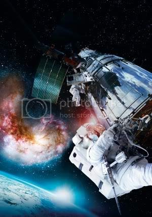 IMAX Hubble 3D – Wall Poster Print – A3 Size - 297mm x 420mm