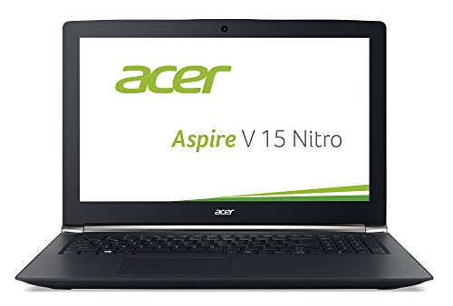 Acer Aspire V 15 Nitro (VN7-572G-75ZN) 39,6 cm (15,6 Zoll Full HD IPS) Laptop (Intel Core i7-6500U, 8GB DDR4-RAM, 256GB SSD + 500GB HDD, NVIDIA GeForce GTX 950M, DVD, Win 10 Home) schwarz