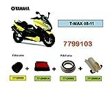 one by Camamoto Kit de filtres à air et huile pour yamaha T-Max 500 / 530cc (t-max 500 anno 2008-2011)