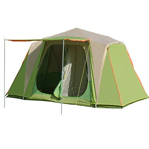 AOGUHN-tent - 5-8 personen Professioneel gebruik Snel automatisch openen Aluminium palen Tent Dubbellaags waterdichte winddichte campingtent