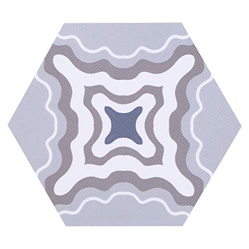 Pegatinas de azulejos hexagonales, PVC 11.5x20x23cm hecho para cocina de baño