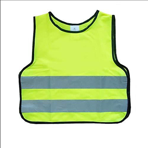 Veiligheidsvesten kleine tas reflecterend vest kind beschermende kleding basisschool verkeer nacht veiligheidsvest fluorescerend veiligheidstechniek
