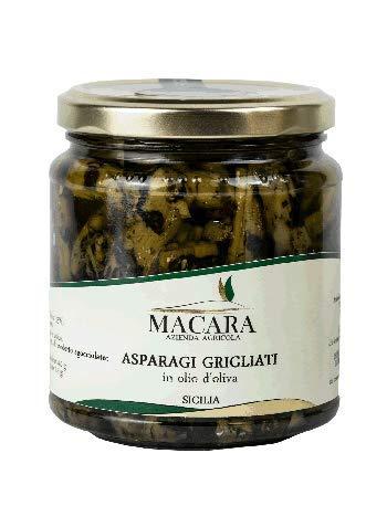 Asparagi Grigliati in olio d'oliva - 280 gr - SICILIA