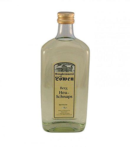 Löwen: Berg Heu-Schnaps 40% Vol. / 0,5 Liter - Flasche