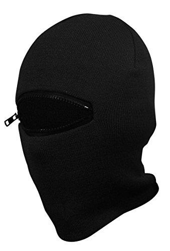 PG Wear Sturmhaube und Mütze Action 2 in 1 schwarz