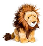 Wildlife Tree 12 Inch Stuffed Lion Plush Floppy Animal Kingdom Collection