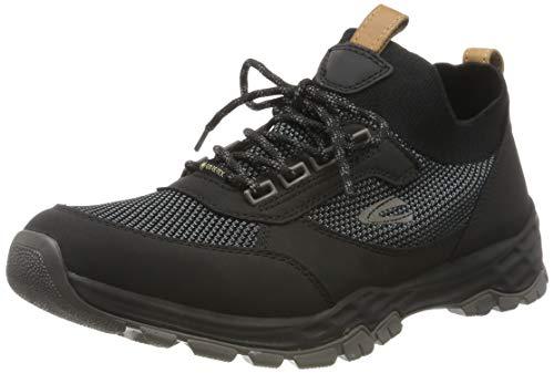 camel active Herren Hill GTX 12 Sneaker, Schwarz (Black/Dk.Grey 2), 46 EU (11 UK)