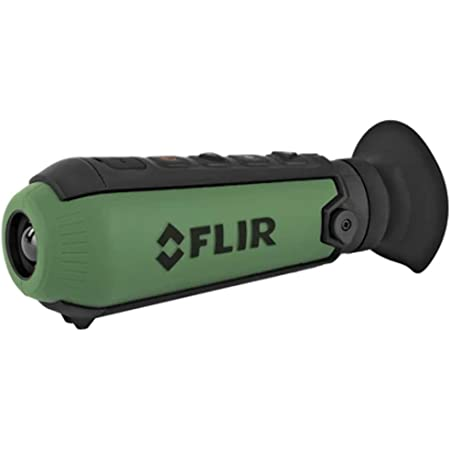 "FLIR Scout TK Handheld Thermal Imaging Monocular Green, 6.0"" x2""x 2"" (L × W × H)"