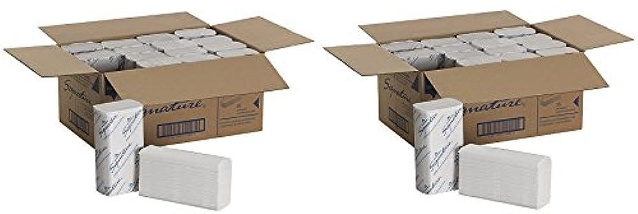些細なペチュランス眠りgeorgia-pacific 21000署名2-plyプレミアムMultifold紙タオル、ホワイト、WXL ) 9.2インチx 9.4インチ16パック、125タオル1パック)のケース( 2ケース)
