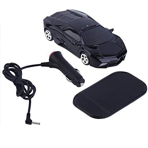 QiKun-Home Hot Car Speed Radar Detector de protección de 360 ° Detección láser Alerta de Voz Negro Detector de vehículos de automóviles Negro Negro Electrónica de Consumo Electrónica de Consumo