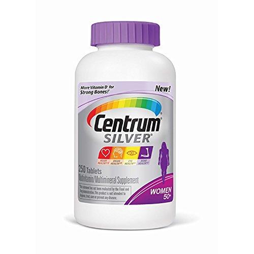 Centrum Silver Women's Multivitamin (250 ct.) (Pack of 2)