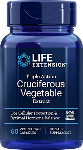 Triple Action Cruciferous Vegetable Extract 60 VegiCaps (Pack of 2)