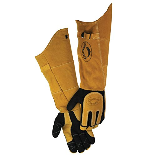 Caiman 1878 21' Deerskin Specialty Welders Gloves Size Large (1 Pair)