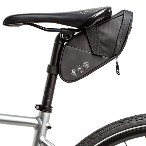ZSTY Bolsa de Cola de la Bicicleta, de Gran Capacidad a Prueba de Lluvia y Camel Impermeable Posterior Bolsa,S