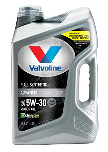 Valvoline Advanced Full Synthetic SAE 5W-30 Motor Oil 5 QT