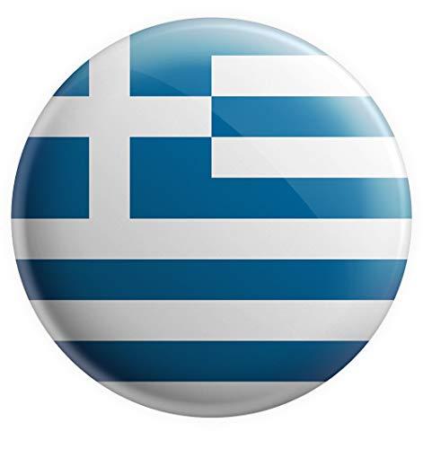 Imán de la bandera de Grecia de AK Giftshop, regalo de cumpleaños, Navidad, regalo de calcetín, amigo invisible, coleccionista