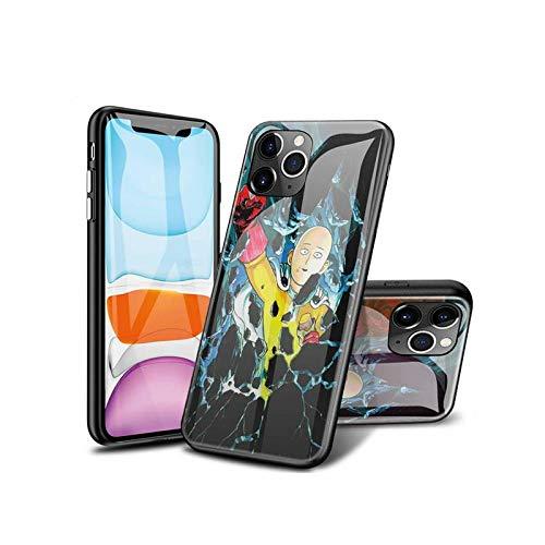 SviXXaYN iPhone 11 Funda, Parte Trasera de Cristal Templado + Funda Protectora de TPU de Silicona Suave, Compatible con iPhone 11#003(C)