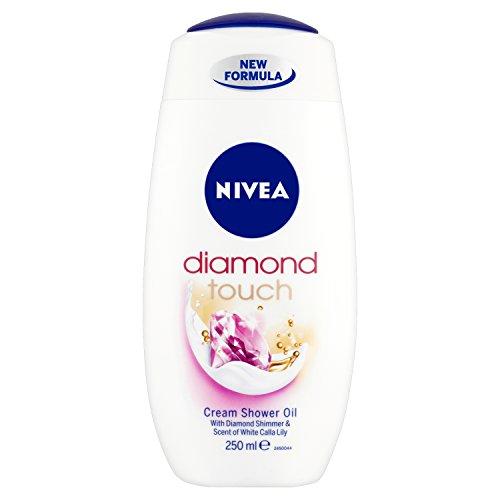 NIVEA Shower Diamond Touch 250ml Pack of 6