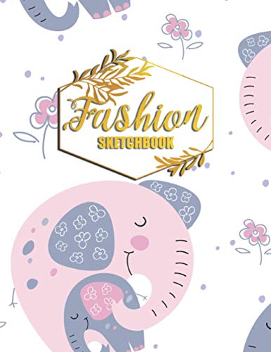 Fashion Sketchbook: Fashion Design Portfolio for Artists and Designers for fashion school students