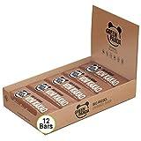 Barritas veganas, Snack Paleo vegano puro, y con ingredientes orgánicos. Barritas energéticas 12x30g en una caja sabor 'Wow Cacao con Almendras' de Green Panda