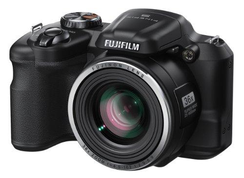 Fujifilm FinePix S8600 16 MP Digital Camera with 3.0-Inch LCD (Black)