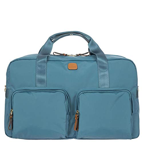 X-Travel Holdall with Pockets, One Size007-Grey Blue