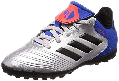 adidas Copa Tango 18.4 TF J, Botas de fútbol Unisex niño, Multicolor (Plamet/Negbás/Fooblu 000), 37 1/3 EU