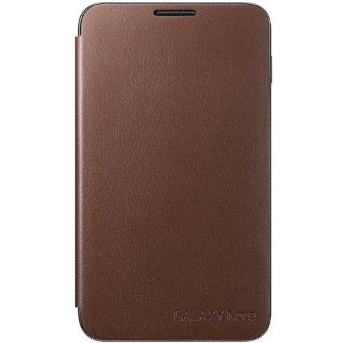 Samsung EFC-1E1C Flip Cover für Samsung Galaxy Note N7000 dunkelbraun