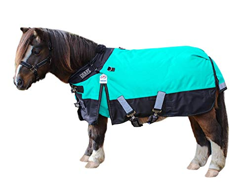 Derby Originals Nordic Tough 1200D Ripstop Waterproof Reflective Winter Mini Horse and Pony Turnout Blanket 300g Heavy Weight