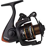 Akataka 2000 3000 4000 Fishing Reels Spinning, Ultralight Smooth, Catfish Spinning Reel with 10+1 BB, 26lb Max Drag, Strong Graphite Frame, Brass Main Shaft, Freshwater Spinning Reel for Fishing Bass