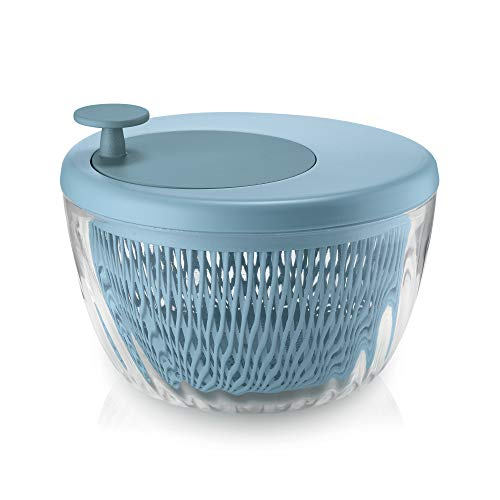 Guzzini Essoreuse à Salade avec Couvercle 00 Bleu