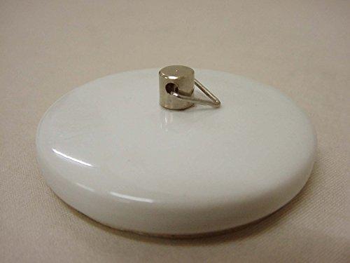 TAPON BAÑERA Lavabo BIDE Fregadero Standard Porcelana Blanco