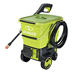 best portable pressure washer with water tank from Sun Joe