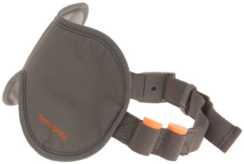 Samsonite Travel Accessories Eye Shades & Ear Plugs Mascherina per Dormire, Graphite, 26 cm