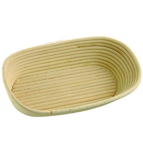Gärkorb Rattanrohr 1 oval 260 x 160 mm Althuetter-Markthandel