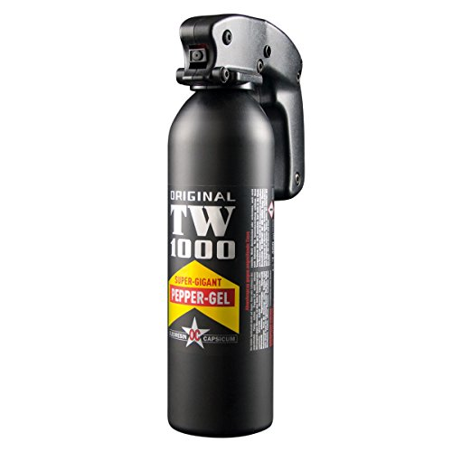 kh security Pfeffergel TW 1000 Magnum, Schwarz, 400 ml, 130179