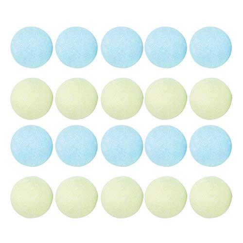 20 pièces bombes de bain cadeau de boule à bulles de bain fait à la main, ensemble de bain de parfum, exfoliant, élimination des cuticules, soulager les démangeaisons, accessoire de bain