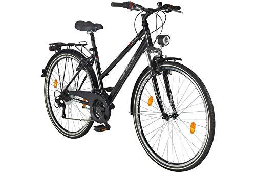 tretwerk DIREKT gute Räder Journey 28 Zoll Damen Trekkingbike, Damen-Fahrrad 18 Gang Ketteschaltung