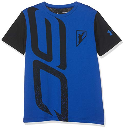 Under Armour Sc30 Initials SS Camiseta, Niños, Azul (Royal/Royal 400), S