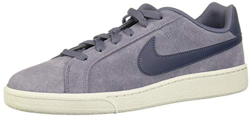 Nike Schuhe Court Royale Suede Light Carbon-Thunder Blue-Light Bone (819802-006) 44 Blau