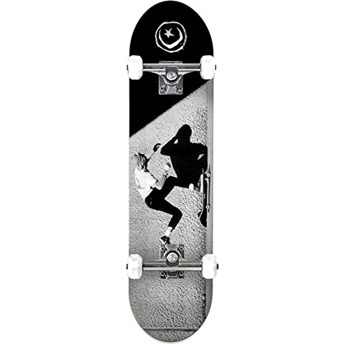 Foundation Herren Skateboard Complete JGB Push , Größe:7.875, Farben:black-grey