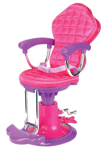 Salon Doll Chair Fit for 18 Inch American Girl Doll | Perfect Salong Chair for Brushing and Styling Dolls Hair