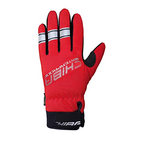 Chiba Kinder Handschuhe Polyester wasserdicht, Kinder, Chiba31625 Red XXXS, rot, 3X-Small
