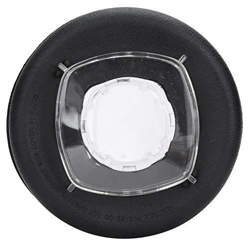 Accesorios para exprimidor, tapa del recipiente para licuadora Goma de policarbonato de 2 partes Plástico resistente lavable con tapón para Vitamix 64 oz para exprimidor