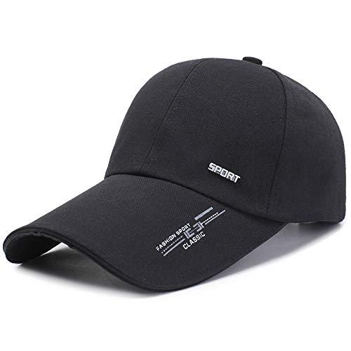LINSID SOMBRERO-Gorra Deportiva Sombrero para Hombre para Peces Línea de Moda al Aire Libre Gorra de béisbol Visera Larga Brim Shade Snapback Sun Hat