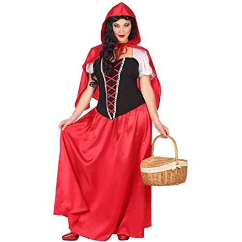 Atosa Déguisement Femme Chaperon Rouge