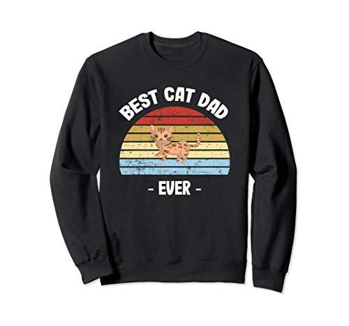 Bengal Cat Dad Gift Sweatshirt